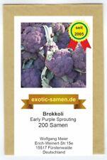 Brokkoli - Early Purple Sprouting - 200 Samen