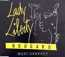 "Nougaro Maxi CD 3"" Lady Liberty - France (EX+/EX+)"