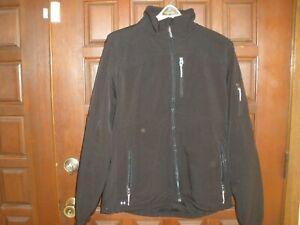 Men's Black Diamond  Soft Shell Jacket with Fleece Lining Black size L
