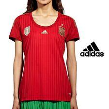 Adidas Womens Spain National Football Top T Shirt World Champion Edition Soccer