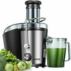 Aicok Juice Extractor Easy to Clean, 800W Ultra Power Centrifugal Juicer 328L photo