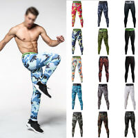 Compression Pants Base Under Layer Men Sports Apparel Long Fitness Gym Legging