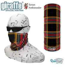 Far Par Scottish Tartan Balaclava Bandana Face Mask Neck Tube Scarf Snood Warmer
