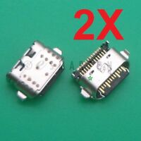 2X Motorola Moto G6 XT1925 Dock Connector Sync USB Charger Charging Port