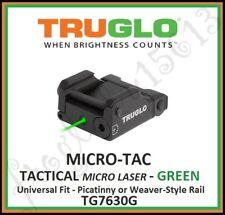 TRUGLO MICRO•TAC™ GREEN TACTICAL PICATINNY MICRO LASER - TG7630G