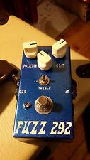 "JDM ""Fuzz 292"" Silicon Fuzzface 3-way Voicing, Vintage BC184 & BC109 *TONE!*"