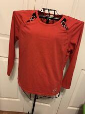 Women's Clothing Michael Kors Red Logo Pullover Blouse Shirt Top Beautiful Sz XL