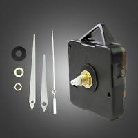 Quarz Uhrwerk Mechanismus Lange Spindel Silber Hand Reparatur Teile Schön b F7T8