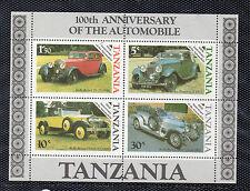 Tanzania Automoviles Coches año 1986 (CQ-206)