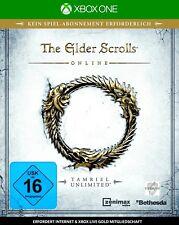 The Elder Scrolls Online Xbox One Neu & OVP
