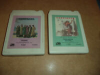 "Foreigner-""Head Games & s/t Foreigner "" - 8 -Track Tape Lot / Tested!"