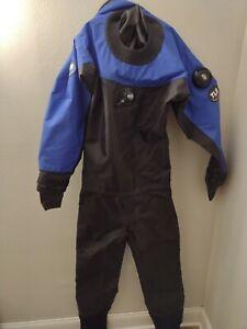 DUI Drysuit Seal TLS SE diving suite blue black large?