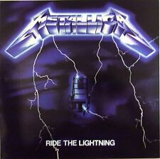 METALLICA VINYL LP RIDE THE LIGHTNING