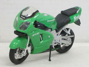 Motorrad Kawasaki ZX-12 Ninja in grün, ohne OVP, Maisto, 1:18