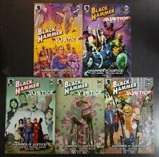 BLACK HAMMER JUSTICE LEAGUE #1 Five Variant Dark Horse Comic Book Set NM