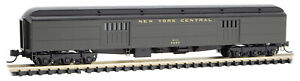 Micro-Trains MTL N-Scale 70ft Heavy Baggage Car New York Central/NYC #7957