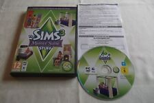 THE SIMS 3 MASTER suite Roba Espansione Add-On PC/Mac DVD v.g.c. Post veloce