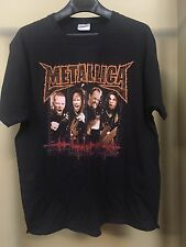 METALLICA Vintage T Shirt 90's Tour Concert Load Hard Rock LARGE PUSHEAD