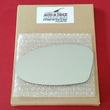 NEW Mirror Glass + ADHESIVE ALERO GRAND AM Driver Left Side FOLDING STYLE