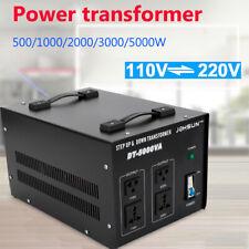 5000W Step Up/Down Voltage Converter Transformer 110V To 220V /220V To 110V USA