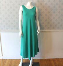 Eileen Fischer Organic Cotton Mint Green Sleeveless Dress Size XS