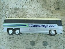 1960's -COMMUNITY COACH plastic BUS Coin Bank -by JIMSON -Hong Kong