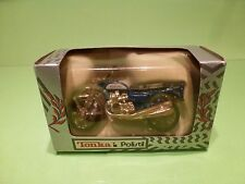 POLISTIL MOTORCYCLE SUZUKI -  BLUE 1:24? - GOOD IN BOX