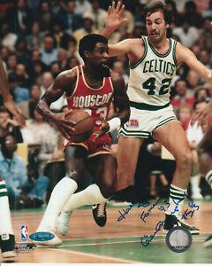 Calvin Murphy Autographed 8x10 Basketball Photo With HOF 93 TRISTAR COA