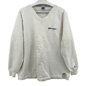 Vintage Champion Authentic Pullover Spellout Crewneck Sweater Sz XL Made in USA