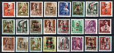 HUNGARY 1946. TEXT SPECIAL ISSUES, SETS WITH 24 DIFFERENT PIECES !!! MNH (**)