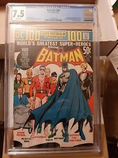 ,Batman 238 VF- (CGC 7.5) 1/72 Neal Adams cover! DC 100 Page Super Spectacular!