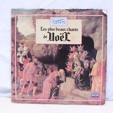 """33T LES PLUS BEAUX CHANTS DE NOËL Vinyles LP 12"""" NE DIVIN ENFANT -DECCA 410238"""