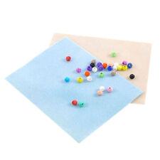 2pcs Bead Mats Blue Beige Cream Jewelry Beading Stringing Craft