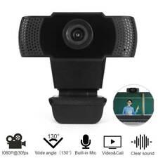 HD Webcam 1080P Kamera USB Autofocus Mit Mikrofon für PC Laptop Computer Mac DHL