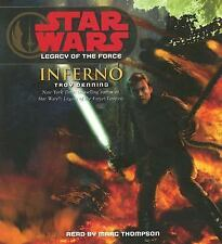 Star Wars: Legacy of the Force: Inferno by Troy Denning (2007, CD, Abridged)