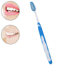 Adult Dental Toothbrush Medium Nylon Bristles Charcoal Oral Dental Care S