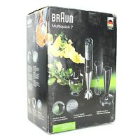 Braun Multiquick 7 Handheld Blender Bundle MQ727 Blend Mix Mash Whisk New in Box
