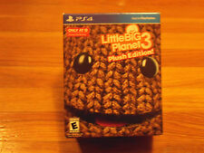 LittleBigPlanet 3:Plush Edition! (Plays 4, 2014) Factory Sealed/Target Exclusive
