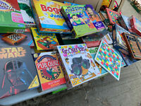 32 games & puzzles for all the family children adults as pictured lot E110420H
