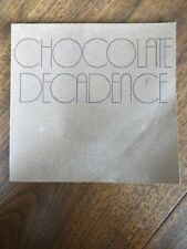 CHOCOLATE DECADENCE  by Janice Feuer SIGNED