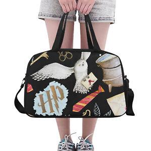 Harry Potter Inspired Gym/ Travel Holdall Bag with Shoulder Strap
