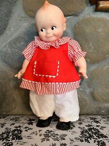 "Vintage 80s Noel Joanna INC  NO JO - KEWPIE Doll Vinyl 16"" Made In California"