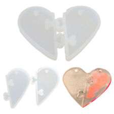 DIY for Lovers Pendant Silicone Mold  Epoxy Resin Mould  Jewelry Tools