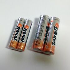 BEXEL Battery AAA 2PCS + AA 2PCS Battery SET 1.5V LR06 + LR6 Korea Brand New