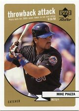 Mike Piaza 1999 Upper Deck Retro Throwback Attack Level 2 451/500 New York Mets