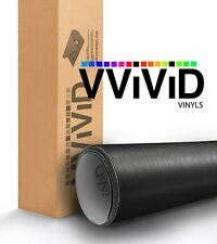 VViViD Brushed Black Aluminum Vinyl car Wrap 1ft x 5ft decal 3mil slidable film