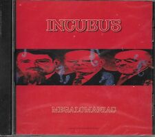 INCUBUS  Megalomaniac  promo CD single with PicCover  STILL SEALED!!!