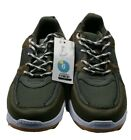 Art Class Augie Boys size 6M Lace Up Sneakers Very Cool Olive/Brown Camo Colors