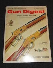 Gun Digest 21st Anniversary Deluxe Edition Book John T. Amber  - 1967