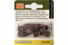 Proxxon 28980 Tubes Abrasifs P150 - Sanding drums 150 grit 10pcs